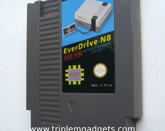 NES Everdrive Cartridge plus 8GB SD Card and Games