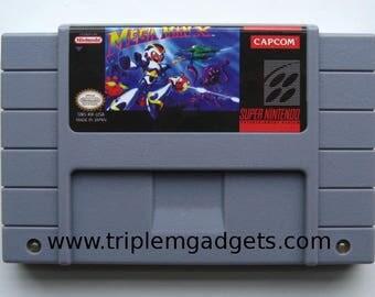 Mega Man X - Super Nintendo NTSC Reproduction Cartridge - UK Item