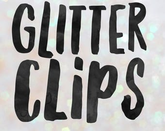 Glitter Clips