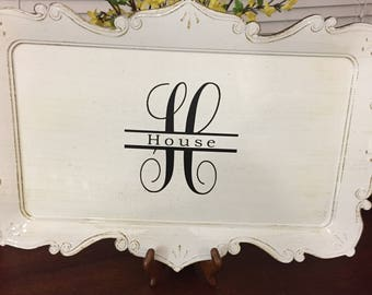 Personalized Serving Tray/Platter