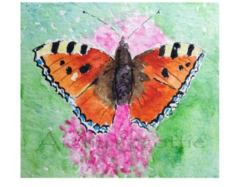Butterfly Square Greeting Card