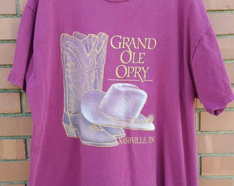 Grand Ole Opry T Shirt - size L #122
