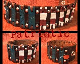 Patriotic Cuff Bracelet