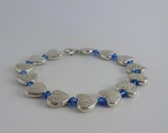 Pewter bracelet