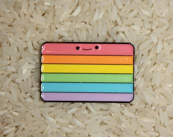 Rainbow Loner Pin
