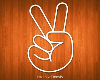 PEACE DECAL, car decal hippie, hippie decal, car decals for men, car decals for women, car decal funny, vinyl decal car, laptop decal peace