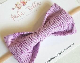 Purple bow, baby Headband, Baby Bows, Bows, Newborn, Hair Bows, Hair Accessories, Newborn Headband, Infant Headbands, Baby Girl Headbands
