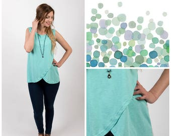 Color Flama nursing Top