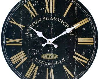 Black French Style Clock