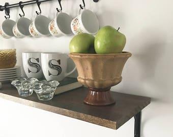 Haeger Pottery Planter -Stoneware Planter -Ceramic Pedestal Bowl