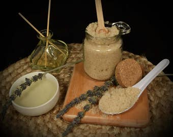 All Natural Sugar Scrub ~ Lavender