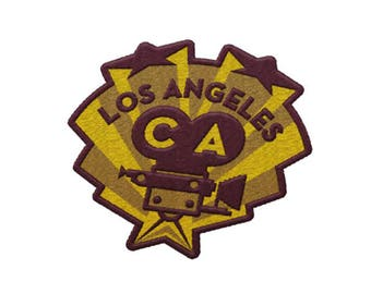 Los Angeles California Travel Patch