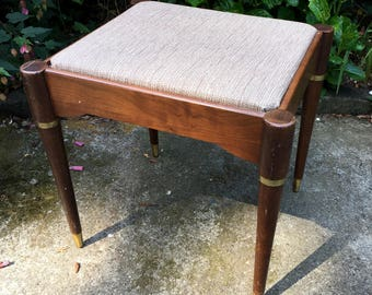 Vintage Singer Sewing Machine Stool