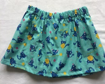 Cute Cat Skirt size 2 - 3 years