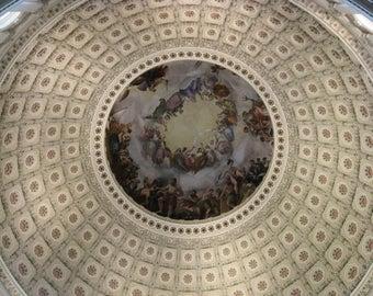 Rotunda US Capital Building- Washington DC
