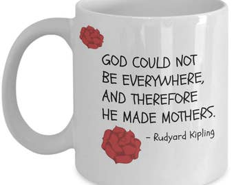 Mother's Day Coffee Mug - God Could Not Be Everwhere