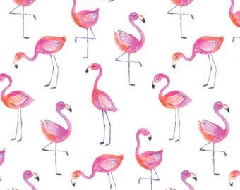 Flamingo fitted Crib sheet  Crib sheets Fitted Crib sheet  Flamingo 