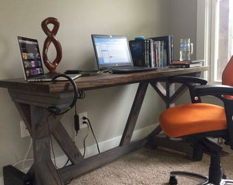 Fancy X Farmhouse Desk
