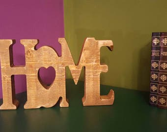 Decorative lettering for home