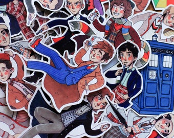 Doctor Who - Stickers - (choose 1)