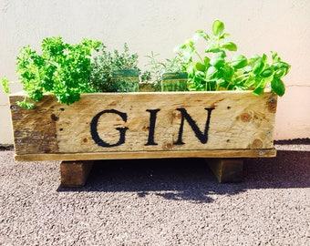 Gin Herb Garden Planter