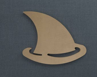 Shark Fin - Nautical Wood Cutout - Unfinished Sign