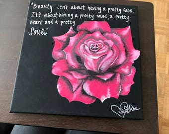 Customized hand painted canvas