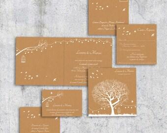 Invitation wedding poetry