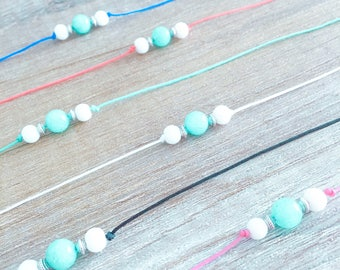 Anklet - Amazonite - Beachy look - perfect for the summer