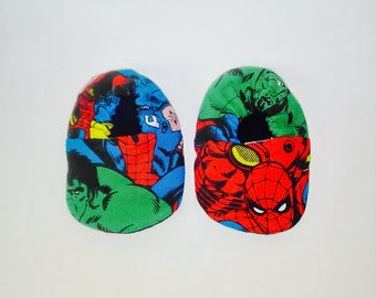 0-3mos Baby Crib Shoes The Avengers