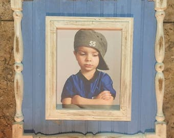 8x10 opening spindle frame (distressed)