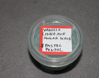 Vanilla Cinnamon Sugar Scrub