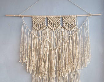 Macramé wall hanger | MAXI SAGE
