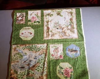 Asian Quilting Panel