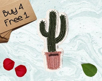 Succulent Patches Desert Patches Iron On Patch Applique Patches For Jackets
