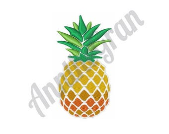 Pineapple Embroidery Design