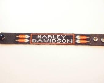 Bracelet feathers of Eagle Harley Davidson
