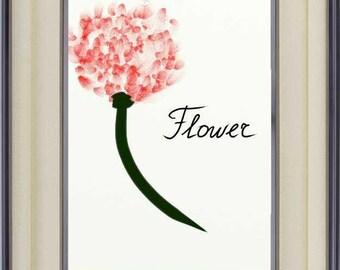 INSTANT DIGITAL DOWNLOAD flower poppies print good vibes