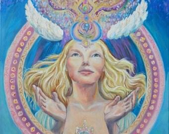 "Canvas Print ""Awakening Of The Soul"""