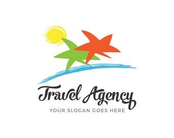 Travel agency logo, logo, vector, eps, png, jpg, clipart, editable, cuttable, printable