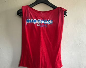 Vintage Distressed Top Size 10