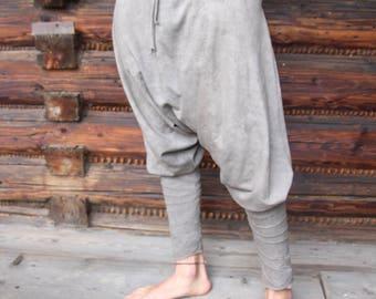 Yogin Yoga Ninja Pants leggin olive Hippie Alladin eco