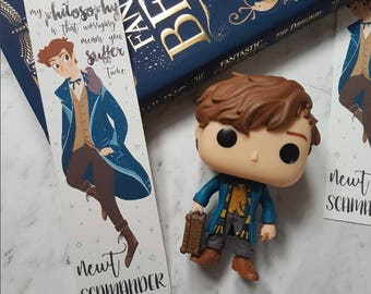 Newt Scamander | Fantastic Beasts and Where to Find Them bookmark