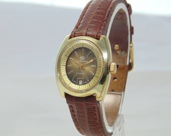 Lovely vintage 1970s Watches of Switzerland Seafarer automatic FREE UK P&P