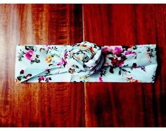 Floral Hairwrap