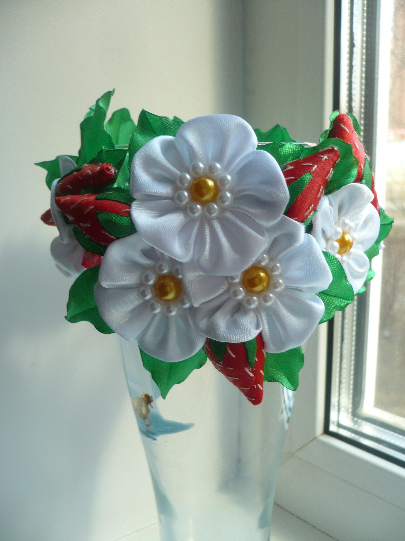 Childrens Elastic Hair Band Baby Headband 1st Bday Floral Headpiece