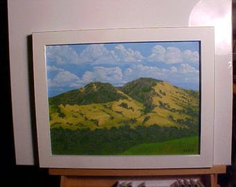 Mt. Diablo on The Concord Side oil painting
