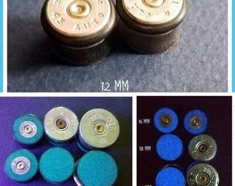 Bullet and Shotgun Gauges / Plugs Earrings