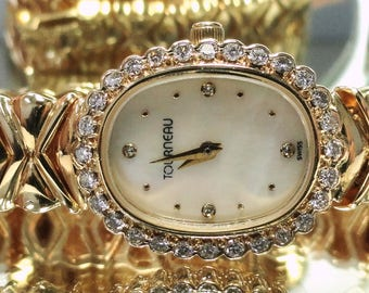 Vintage Ladies 14kt gold Tourneau