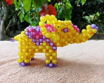 Elephant of beads - sensory toy